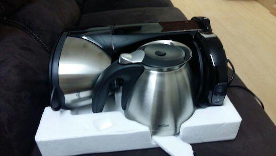 foto de la cafetera de goteo Braun Sommelier KF-610