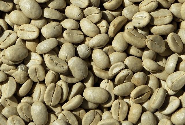 café verde: granos