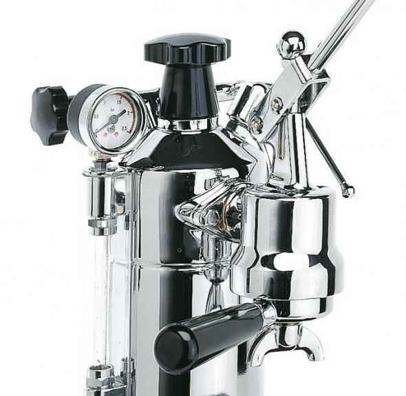 Imagen de la cafetera de pistón La Pavoni Professional