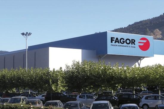 Foto de las oficinas de Fagor en Mondragón