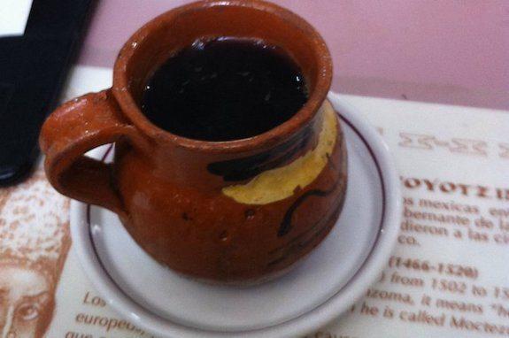 Foto del café de olla (méxico)