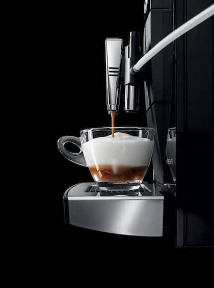 Imagen de la cafetera automática Jura Impressa F8