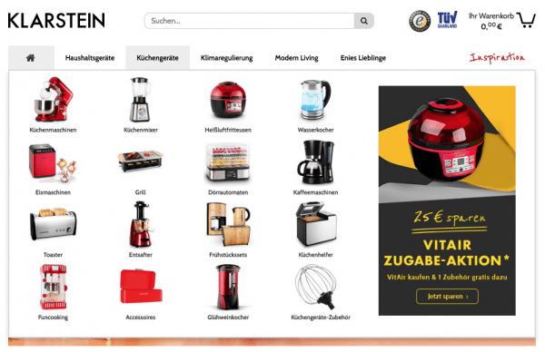 Catálogo de productos Klarstein