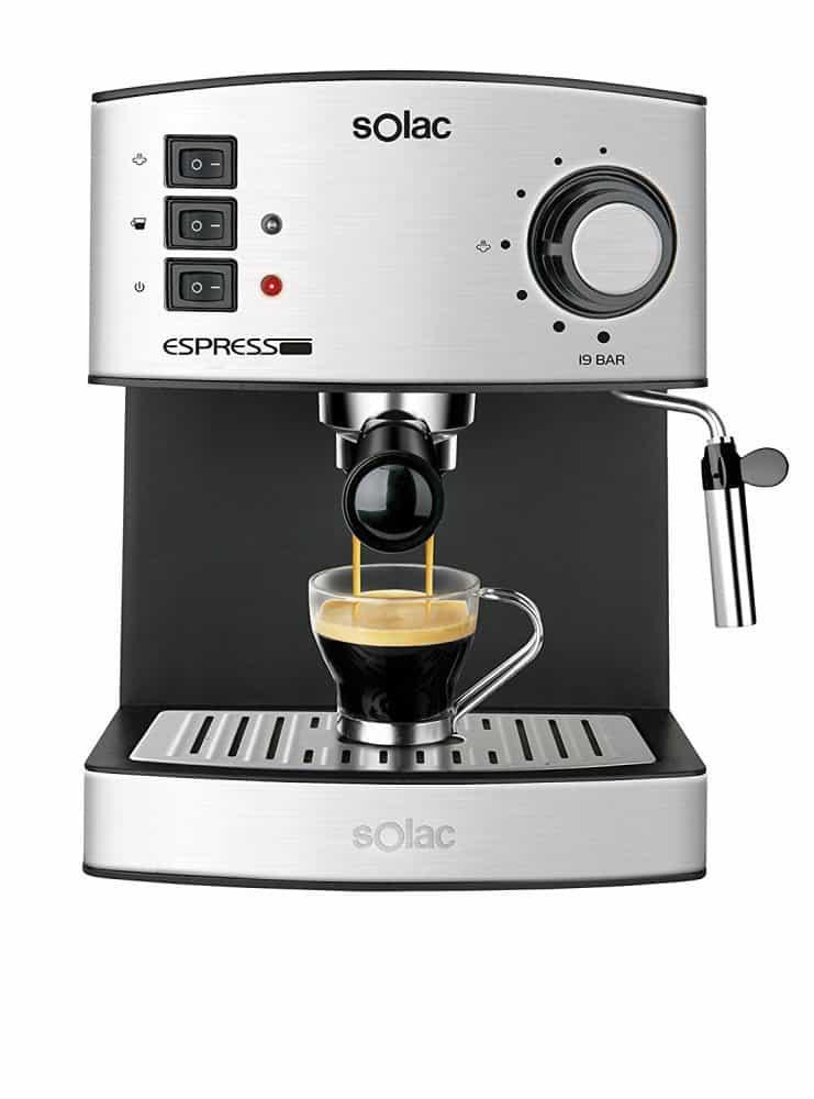 MiniMoka CM1637 Análisis de Cafetera Express