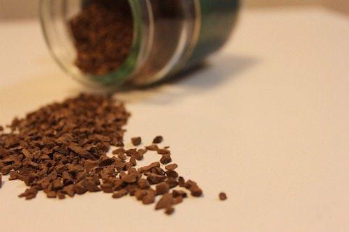 Fotografía de café molido