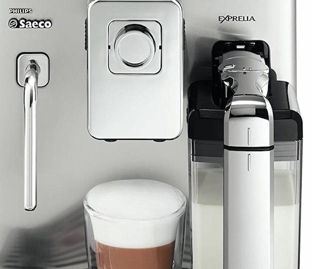 cafetera automática saeco exprelia con panarello
