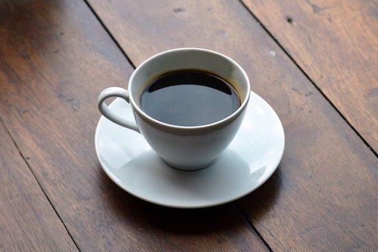 Foto de una taza de café americano