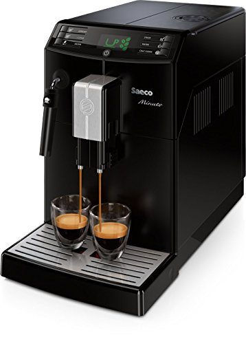 Saeco Minuto Análisis de Cafetera Express