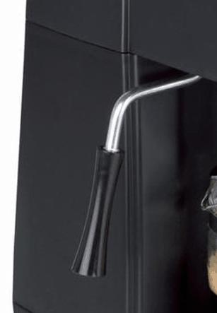 Detalle del vaporizador de la cafetera de hidropresión Orbegozo