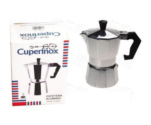 Comprar Cafetera de Aluminio Cuperinox