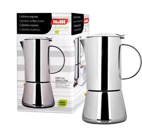 Ibili 620310 cafetera express 10 tazas essential inox 18 10 - Cafetera express amazon ...