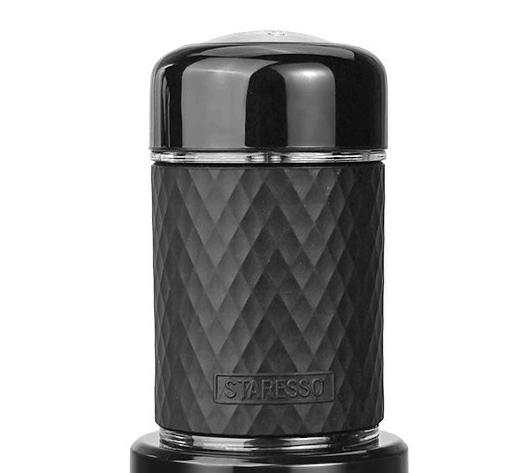 Detalle de la taza de la máquina de café Staresso SP-200
