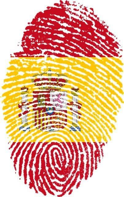Bandera de cafeteras españolas - España