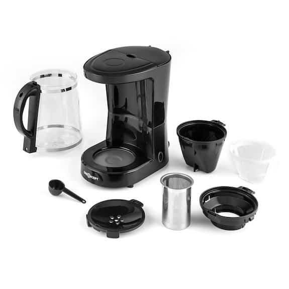 Imagen de la cafetera 2 en 1 OneConcept Coffee&Tea