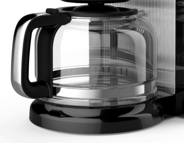 Jarra de cristal de la cafetera de goteo Kitchenaid de 12 tazas