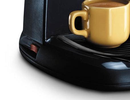 Foto de la base de la cafetera a presión Delonghi EC5