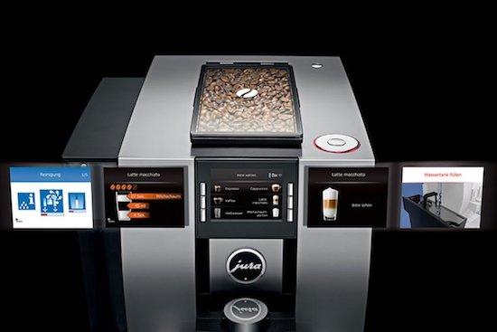 Panel de control de la Jura Z6 automática