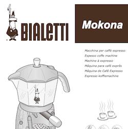 Manuales de usuario de cafeteras Bialetti