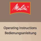 Todos los manuales de usuario de cafeteras Melitta