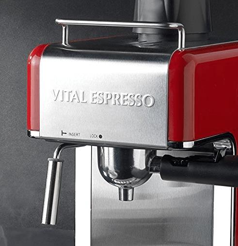 Foto de la cafetera Vitale Espresso en Amazon