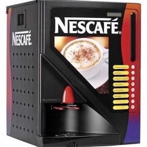 Máquinas expendedoras de café