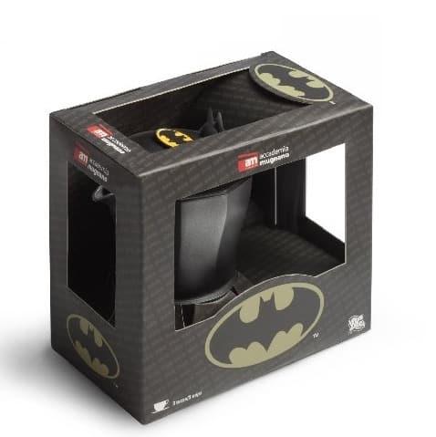 Imagen del embalaje de la cafetera de Batman