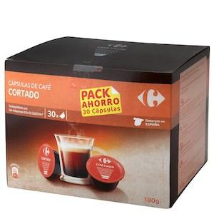 Comprar cápsulas Carrefour compatibles para Dolce Gusto
