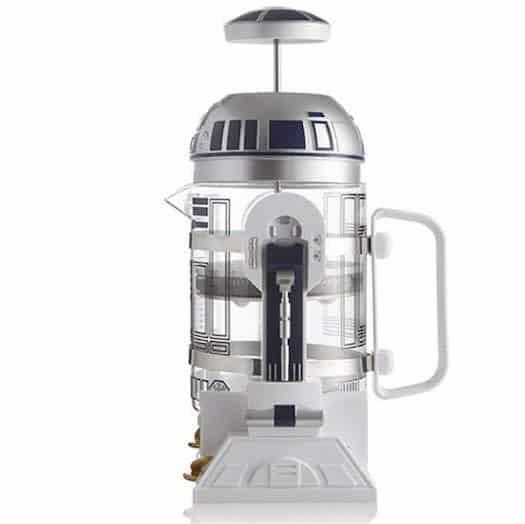 Foto de la cafetera de émbolo de Star Wars en Amazon