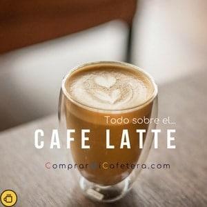 Cómo se hace el cafe Latte