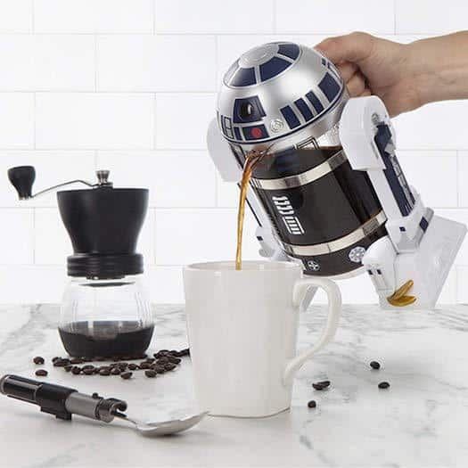Comprar online la cafetera de la Guerra de las Galaxias