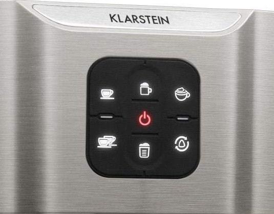 Imagen del panel de control de la Klarstein Bellavita