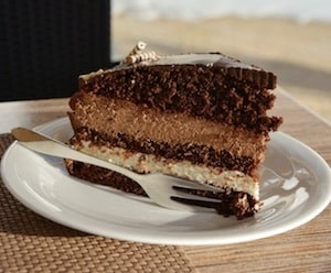 Cómo se hace la tarta de galletas y café