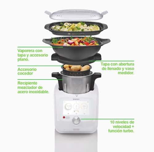 Robot de cocina Lidl Silvercrest