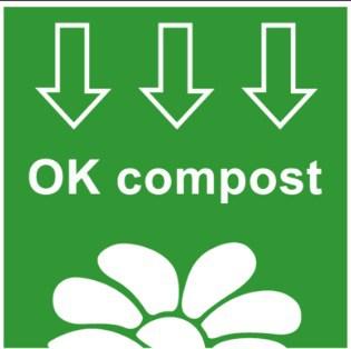 Sello OK Compost para cápsulas de café compostables