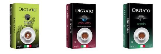 Cápsulas de Café Digrato en Amazon