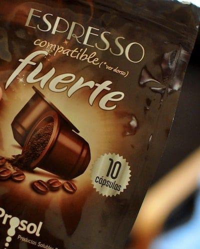 Cápsulas Espresso Prosol Mercadona