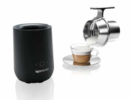 Espumador de leche Nespresso Barista
