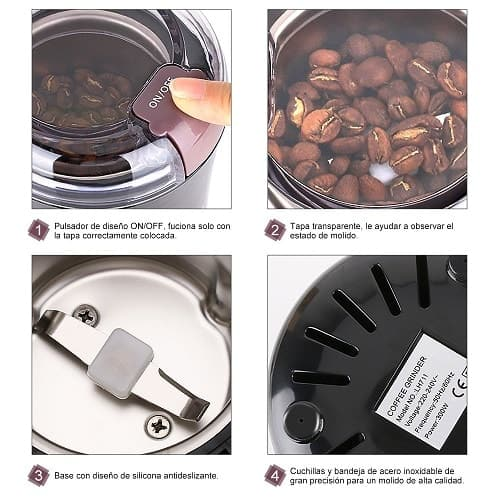 comprar el molinillo de café KYG 300w