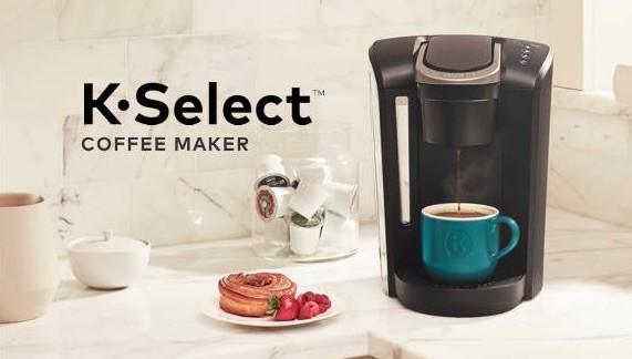 Cafetera Keurig K-Select