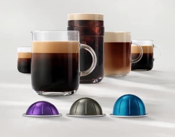 Cápsulas Nespresso Vertuo en Amazon