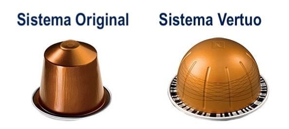 Cápsulas Vertuo vs Original