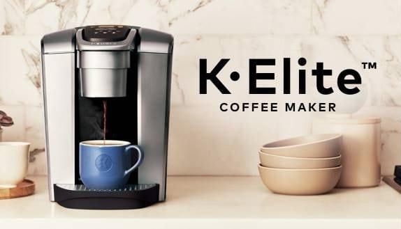 Cafetera Keurig K-Elite