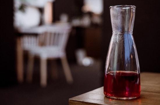 Receta del vino de café: preparación