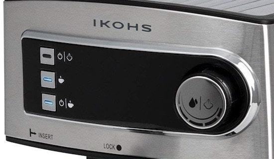 Panel de control de la Ikohs Cöhs Espresso
