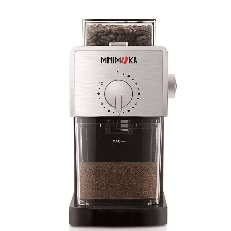 Mini Moka 999459000 Molinillos de caf/é el/éctricos con pi/ñones