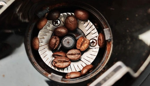 Molinillo de la cafetera de goteo Razorri