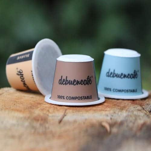 Cápsulas Debuencafé: 100% compostables de café ecológico