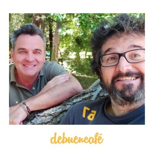 Aitor Guerra y Miguel Munilla, socios-cofundadores de Debuencafé