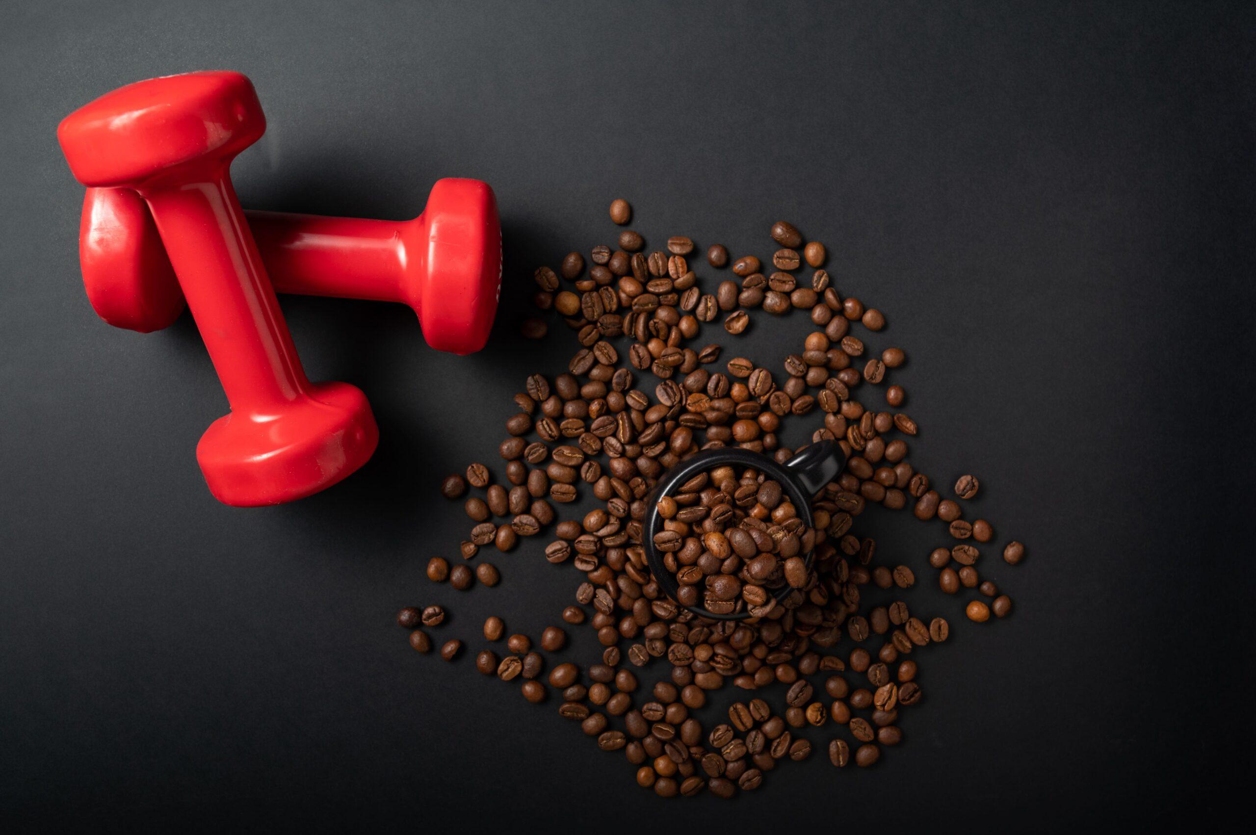 Café y mancuernas